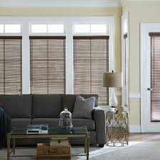 Cheap 2 Inch Faux Wood Blinds 1 In Faux Wood Blind Thehomedepot