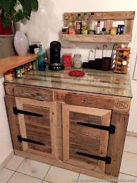 diy pallet kitchen cabinets upcycled wood pallet ideas pallet kitchen cabinets pallets and