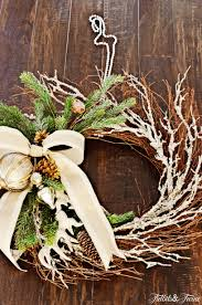 diy traditional christmas wreath tidbits u0026twine