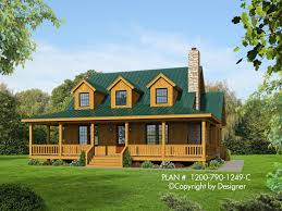house plan 1200 790 1249 c front elevation mountain style house