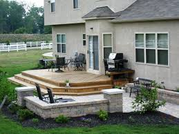 Emejing Patio Cover Design Ideas by Stone Patios And Decks