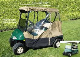 amazon com 3 sided drivable golf cart 2 seater enclosure with