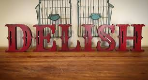 large free standing wood letters stand alone letters home decor