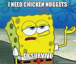 Chicken Nugget Meme - 24 chicken nugget memes people can t get enough of sayingimages com