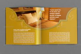 hotel and motel brochure template 12 pages by owpictures