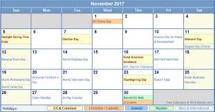 2017 us calendar printable november 2017 calendar archives best calendar printable pdf