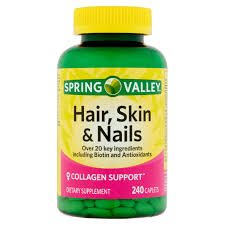 Vitamins That Help With Hair Growth Nature U0027s Bounty Optimal Solutions Hair Skin U0026 Nails Gummies 80