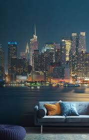 29 best city and skyline wallpaper murals images on pinterest moonrise manhattan wall mural muralswallpaper co uk