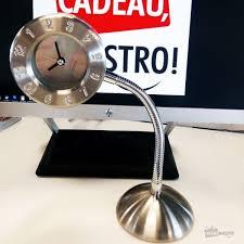 horloge sur le bureau horloge de bureau cadeau maestro