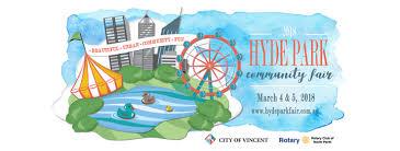hyde park fair 2018 perth uncommon