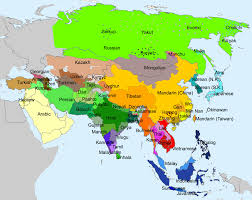 Hmong Map Water In Various Languages Of Asia Etymologymaps
