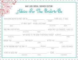 bridal mad libs bridal shower mad lib bridal shower bachelorette party