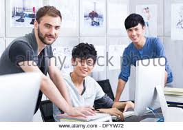 adults working in office stock photo royalty free image