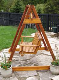 porch swing a frame plans home design ideas