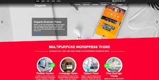 eleganto free corporate wordpress theme for multipurpose use