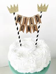 banner cake topper where the things are cake topper one cake banner