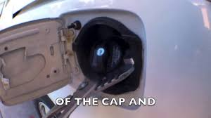 remove any aftermarket fuel gas cap youtube