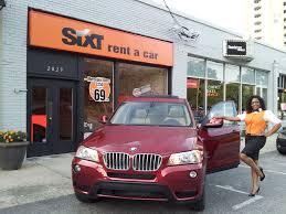 car rental bmw x5 sixt in atlanta buckhead get the car at affordable prices