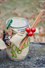 diy russian tea mason jar gift with photo gift tag finding zest