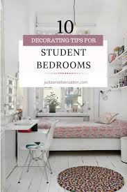10 decorating tips for your student bedroom