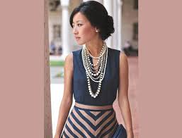 dress with necklace images 5 easy ways to style your statement necklace it 39 s time to go bold jpg