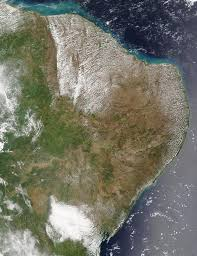 South America Satellite Map by Satellite Image Photo Of Easternmost Brazil South America
