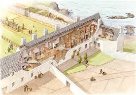 paint the past archaeological and historical reconstruction and