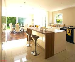 kitchen island with table extension modern kitchen island with table attached cabinet breakfast in kit