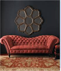Leather Tufted Sofa Chesterfield Sofa Tufted Couch Tufted Sofa And Red Leather