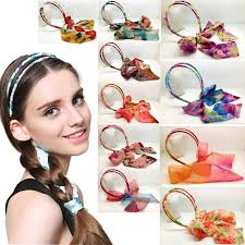 korean headband new bohemia headband ribbon chiffon bow korean hair band hair