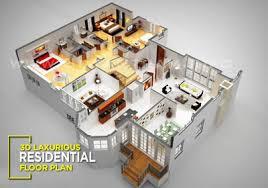 residential floor plan 3d floor plan design interactive 3d floor plan yantram studio