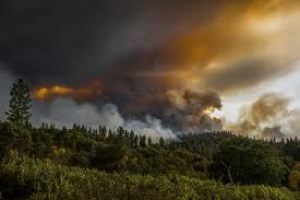 California Wildfire Smoke Map by Brown Declares State Of Emergency In 65 000 Acre Gold Country Fire