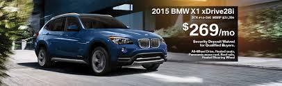 bmw tire specials 2015 bmw x1 lease special bmw of schererville