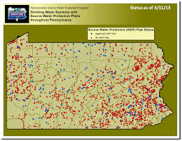 Pennsylvania Map With Counties by Your Status Sourcewaterpa