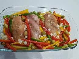 bouquin de cuisine poulet au four avec ses légumes les recettes d amandine en béarn