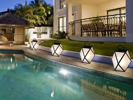 Outdoor Floor Lamps Muse Contardi Medium Outdoor Floor Lamp Black Lacquer Nella Vetrina