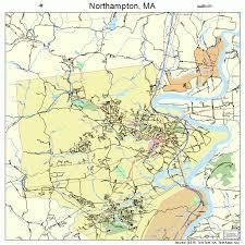 map of northton ma northton massachusetts map 2546330