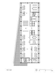 admin building floor plan gallery of social security administration building in barcelona