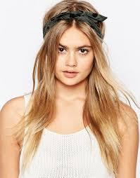 wire headband asos limited edition khaki spot wire headband