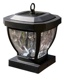 4x4 post cap lights 4x4 solar post caps set of 2 glass carriage lanterns for wood posts
