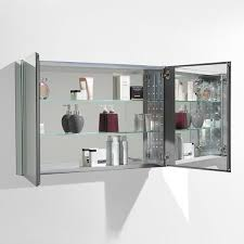 12 Inch Wide Recessed Medicine Cabinet Fresca 40 Inch Wide Bathroom Medicine Cabinet With Mirrors Free