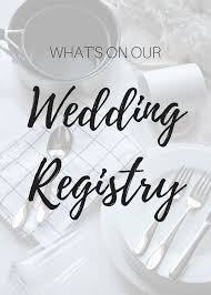 the wedding registry just b our wedding registry