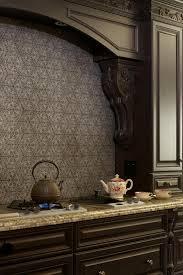 Kitchen Back Splash by Original John Shoemaker Remodelwor Stone And Glass Tile Backsplash