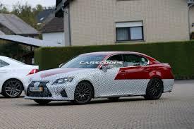2016 lexus gs f new new lexus gs f prototype spied testing gtspirit