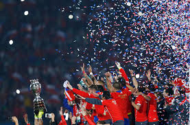 photo gallery chile celebrate copa america title after win