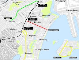 Rose Parade Route Map by Trams In Sydney Wikipedia