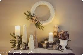 Holiday Home Decorations by Gilded Noel Holiday Home Tour Living Well Spending Less