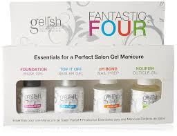 amazon com gelish fantastic four gelish bond foundation top it