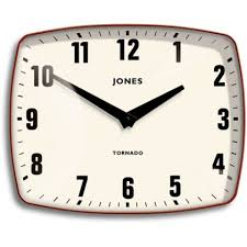 Wall Clock For Living Room by Jones Tornado Red Wall Clock At Homebase Could Do For Chimney