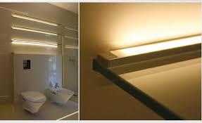 anodized aluminum surface mount led profile housing for led strip